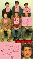 The Kirby Dev Team Attempts to Draw Kirby (Chikkenburger) Tags: memebase memes videogames video funny cheezburger chikkenburger