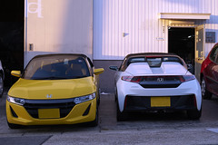 Yellow and White (kr0nk0) Tags: honda s660 sony a7rii ilce7rm2 sel70300g fe 70300mm f4456 g oss