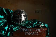 2 Ball Sol Yamato (Studio d'Xavier) Tags: werehere oohshiny 2ballsolyamato discoball ball strobist stilllife
