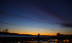 2nd December (MargitHylland) Tags: sunrise gjvik mjsa mjsfergen oppland norge norway norwegen christmascalendar 2nd deceber countdown