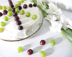 Birthday (3OPAHA) Tags: birthday white fruits canon explore grapes pavlova