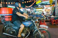 Jalan Alor, Kuala Lumpur (Colum O'Dwyer) Tags: street food bike night travels asia southeastasia streetphotography scooter malaysia kualalumpur streetfood colum columodwyer
