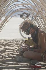 Burning Man 2015: Carnival Of Mirrors (jamenpercy) Tags: city carnival wild man black art festival rock america temple sadness desert acid nevada culture mirrors blackrockcity burning mourn percy 2015 jamen