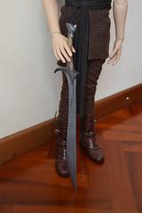 Etsy commission - Orcrist sword (x Ice Wolf x) Tags: shop movie doll handmade ooak eid sd bow sword bjd etsy saga hobbit commission thorin legolas thehobbit tdw elven lorien orcrist handpaintd thedarkwood