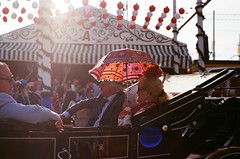 Feria de Sevilla (GabrielRC) Tags: de caballo sevilla abril feria seville andalucia albero traje flamenco puro sevillanas gitana 2015 patillas bueyes cacharritos rebujito