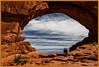 north window 6427 (roswell433) Tags: utah unitedstates arches moab archesnationalpark northwindowarch