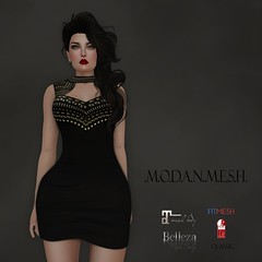 .M.O.D.A.N..M.E.S.H. Nina Dress (thenamelessmodan - M.O.D.A.N..M.E.S.H. - gojo crea) Tags: life people beach shop female shopping hair sweater outfit clothing shoes tank dress pants mesh boots photos body coat avatar jewelry tools full event jacket combine short second heel trend perm creator belleza jumpsuit tmp creations accessory the modan maitreya slink secodlife fullperm modanmesh pixra