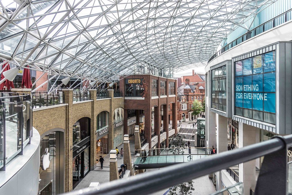2015 VISIT TO VICTORIA SQUARE SHOPPING CENTRE [BELFAST] REF-108836