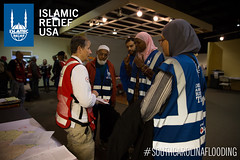 Islamic Relief USA's disaster response team is working with the American Red Cross to assess houses in South Carolina.