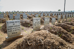Waterloo cemetery – one of Freetown's safe burial areas for Ebola victims