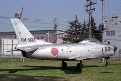 84-8103 North-American F-86D Sabre JASDF (pslg05896) Tags: sabre northamerican jasdf iruma f86d rjtj 848103