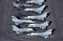 AMARC F-106s (TF102A) Tags: aircraft aviation jet davismonthan amarc f106 deltadart amarg