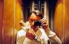 À la baguette - Bakery Selfie (Max Sat) Tags: 135 38mm 75006 analog ascenceur autoportrait baguette elevator film français france french fuji fujiklasses klasse kodak maxsat maxwellsaturnin paris portra portra800 selfie