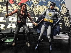 0336 Machete v Batman: Dawn of Stabby Stabby (misterperturbed) Tags: batman machete dccomics mattel adamwest neca batman66