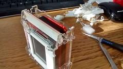 PolargraphSD case 8 (Euphy) Tags: art make robot acrylic cut documentary case stages sd laser instructions kit slot maker tab mdf stepbystep vitamin arduino lasercut 3mm drawbot vitkit polargraph polargraphsd