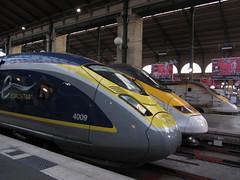 Gare du Nord (portemolitor) Tags: paris 10ème garedunord eurostar train gare du nord e320 tmst 10th 10e arrondissement 75010