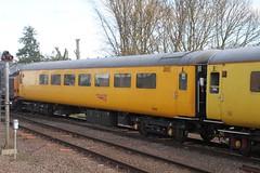 72639 ELY 121115 (DavidsTransportPix) Tags: 72639 plpr4 plainlinepatternrecognitionvehicle4 mark2 mk2 br britishrail locomotivehauledcarriage locomotivehauledcoach networkrail testtrain
