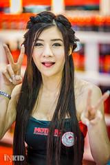 DSC04242 (inkid) Tags: portrait people girl lady female thailand prime lights model women pretty dof bokeh f14 85mm sigma indoor thai ambient thaigirl hsm motorexpo2015