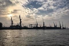 Dock Blohm & Voss im Hafen Hamburg (masteruser1999) Tags: dock wasser hamburg hafen industrie schiff elbe iphone blohmvoss masteruser1999