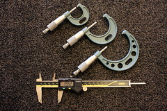 Measuring Equipment (39/52) (Stu.G) Tags: project52 project 52 project522016 24sept16 24thseptember2016 24th september 2016 september2016 24thseptember 24916 240916 24092016 canoneos40d canon eos 40d efs 24mm f28 stm canonefs24mmf28stm pancakelens canonpancake24mm england uk unitedkingdom united kingdom britain greatbritain canonspeedlite430exiiflashgun speedlite 430ex ii flashgun canonspeedlite canonspeedlite430exii canonflashgun canonspeedliteflashgun measuring equipment measuringequipment digital caliper digitalcaliper 025mm micrometer 025mmmicrometer 2550mm 5075mm 2550mmmicrometer 5075mmmicrometer engineering engineeringprecision precisionmeasuring d europe eosdeurope