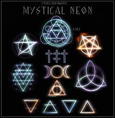 Mystical Neon Gacha@Salem! (Surrealia Anatine) Tags: sl stockholmlima secondlife gacha salem