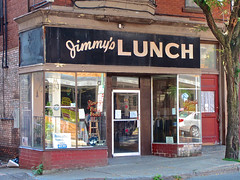 Jimmy's Lunch, Troy, NY (Robby Virus) Tags: troy newyork state ny jimmys lunch diner luncheonette restaurant food