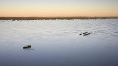 Serenity (inthestride) Tags: water sunset dam canon 40d sigma landscape farm remote flscher inthestride nature outdoor