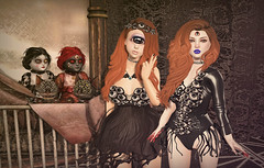 Eyeholic! (Gabriella Marshdevil ~ BUSY IRL) Tags: sl secondlife catwa enfersombre tsg epiphany moonamore taketomi creepy halloween salem