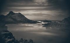 The shore (hebiflux) Tags: ifttt 500px shore sea water ocean longexposure clouds france