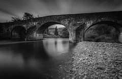 Arched Light.. (CamraMan.) Tags: bentpath bridge monochrome blackandwhite longexposure scotland scottishborders borderesk river light clouds sky canon6d leebigstopper leepolariser manfrotto ndgradfilter camraman daveliddle camaman davidliddle