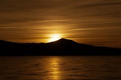 rejoice... (Alvin Harp) Tags: february 2013 oregon upperklamathlake us97 sunset lake reflections waves eveningclouds wispyclouds goldenlight naturesbeauty nature nex5n sonynex5n alvinharp