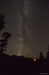 Milky Way Over Olympic National Park with Summer Forest Fire (Chris S. Collison) Tags: milkyway olympicnationalpark nationalparkservice forestfire hurricaneridgeroad