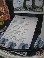 Elly de Waard (streamer020nl) Tags: amsterdam 2016 041016 4oct2016 holland nederland netherlands paysbas niederlande cassandra gedicht poetry poem ellydewaard harmonie