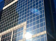 Boston - Suns Reflection (Polterguy30) Tags: reflection sunlight sun customhouse massachusetts boston