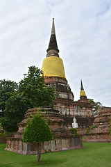 Ayutthaya (scuba_dooba) Tags: ayutthaya phranakhonsiayutthaya phra nakhon si   historical park wat yai chai mongkhon  thailand   siam