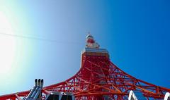 Tokyo tower(3) (sapphire_rouge) Tags: tokyotower japanese   japan tokyo