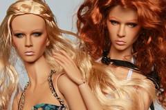 De Muse! Aveline's sister gets her makeup done :) (LyanneNZ) Tags: de muse doll nigel chia noelle aveline