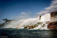 Rainbow over the falls (Eli Goren) Tags: niagara falls canada rainbow 2016 eligoren