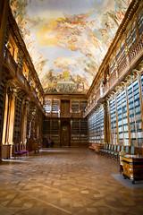 The monk's library (mraogr) Tags: prague czechrepublic czech charlesbridge karlovmost strahovmonastery library baroque