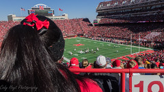Huskers Fan Third Person (Codydownhill) Tags: football game huskers big red sports portrait trophy brother dad