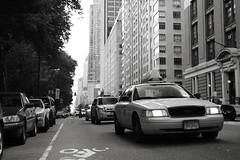 Yellow Cab (rob.sidlow) Tags: car taxi yellow cab medallion canon sigma 700d manhattan new york newyork big apple bigapple street monochrome mono streetphotography cliche city scape