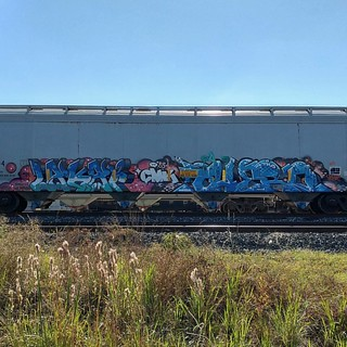#lakai#therd#cmk#tko#trainspotting#trains#boxcar#boxcarcollective#benchingfreights#benchingsteel#steelgiants#freights#freightculture#boxcars#graffiti#traingraffiti#railfain#railfannation#graffiti#graffitiartist#railroad#railroadphotography#foamer