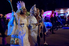 2016 Village Halloween Parade (pburka) Tags: nyc manhattan parade halloween 2016 costume dorothy wizard oz glinda tinman lion