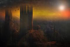 The forgotten valley (radonracer) Tags: fantasy digiart texture radonart france mittelalter