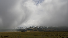 those moments when you feel especially small (lunaryuna) Tags: iceland southiceland skaftafell mountaunrange nationalpark landscape weather weathermood storm stormclouds sky cloudscape solitude lunaryuna spring season seasonalbeauty