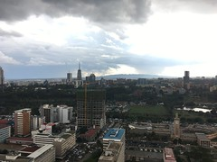 View from Kenyatta International Conference Centre