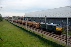 92014 aa Barby Nortoft 230616 D Wetherall (MrDeltic15) Tags: gbrailfreight class92 caledonian 92014 6l48 dirft wcml barbynortoft