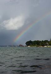 Rainbows end. (Coventony) Tags: rainbow landscape harbour