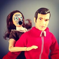 Deadly Embrace (WEBmikey) Tags: toys mego sixmilliondollarman smdm bifbangpow