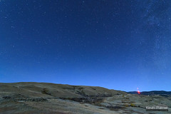 Lodge Trail Ridge (kevin-palmer) Tags: fetterman monument battlefield story wyoming fall autumn october night sky stars starry astronomy astrophotography blue moonlight hills nikond750 tokina1628mmf28 massacre nightscape astrometrydotnet:id=nova1783206 astrometrydotnet:status=failed